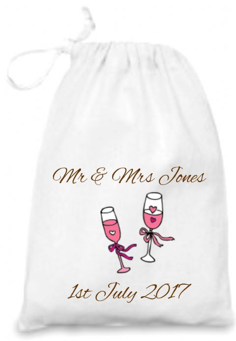 Wedding Toast Gift Bag